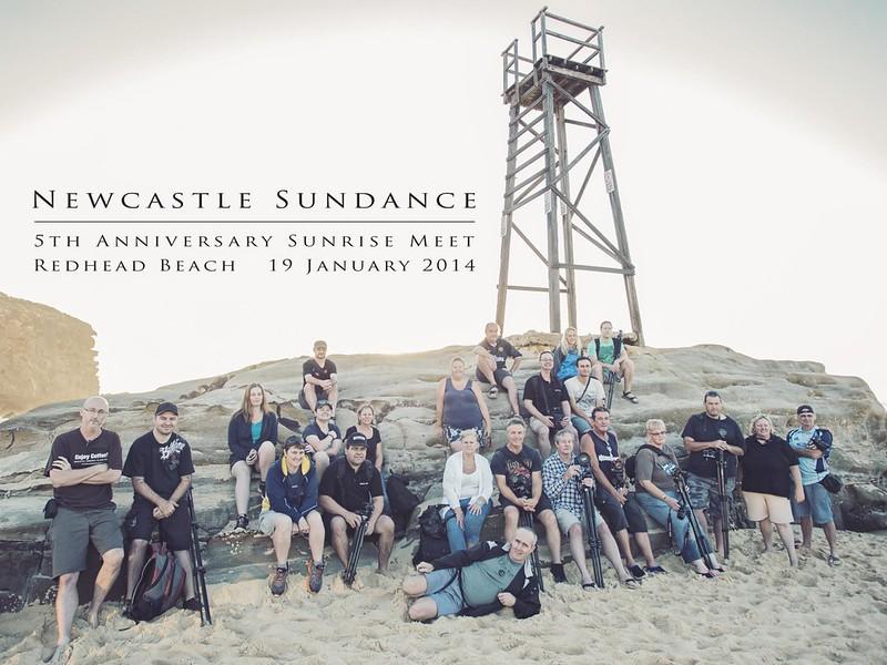 newcastle sundance 5th anniversary sunrise meet - redhead