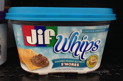 Limited Edition Whipped Peanut Butter & S'mores Jif Whips