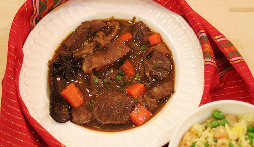 Braised Beef with Carrots by Club 3510