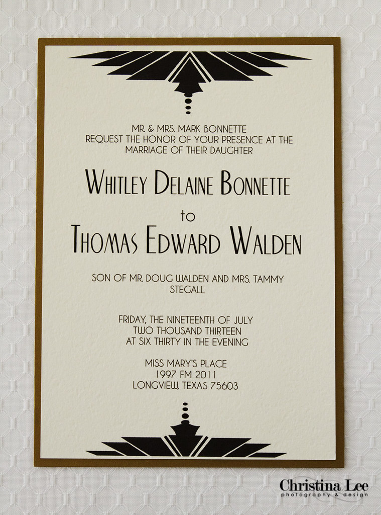 Wedding Invite Black-Gold Old Hollywood2