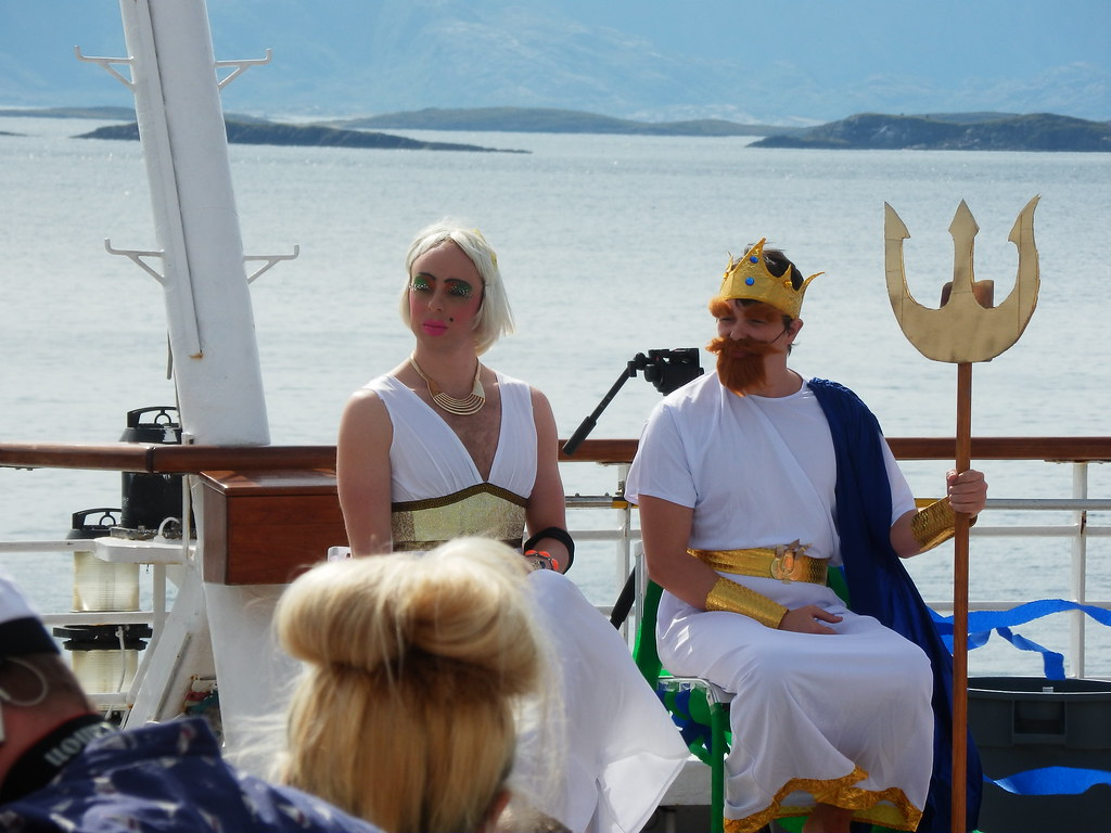 Crossing the Arctic Circle Ceremony