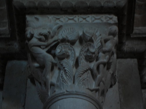 Demon capital, St. Madeleine Vezelay