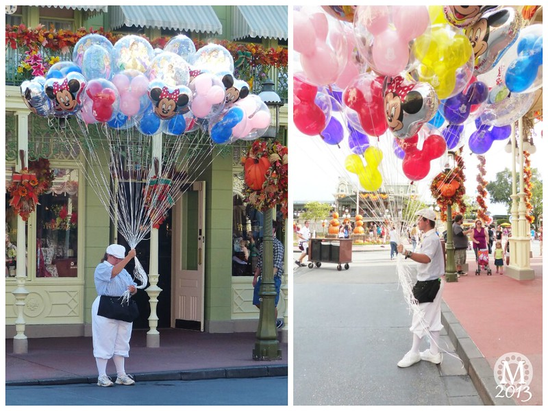 Disney Balloon Vendors