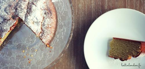 cake à la ricotta et à l'huile d'olive