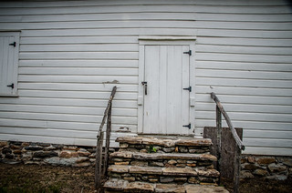Shiloh Methodist Church Side Door
