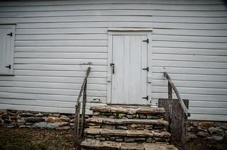 Shiloh Methodist Church Side Door
