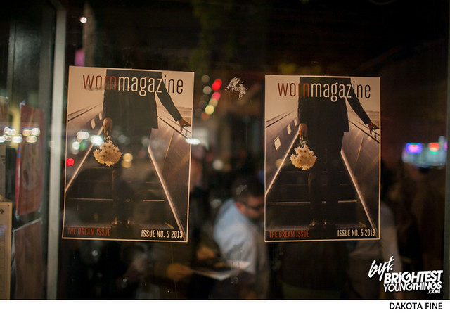 Worn Magazine issue 5 release party at Black Whiskey in Washington, D.C. on May 9, 2013.