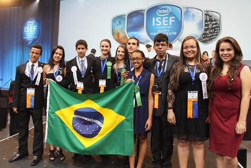 Alunos brasileiros premiados na ISEF 2013
