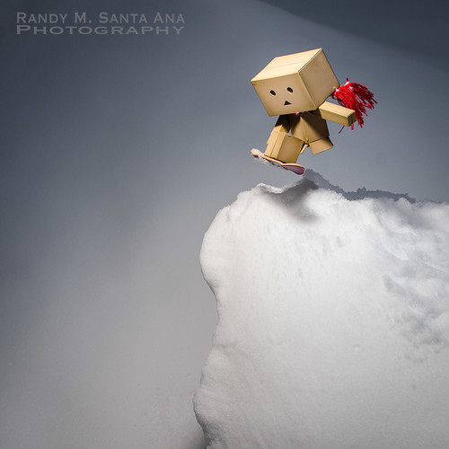 Danbo One Last Snowboard Trick.