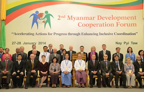 The second Myanmar Development Cooperation Forum