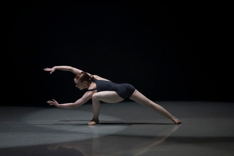 Northern Ballet dancer Victoria Sibson in Luminous Junc•ture © Emma Kauldhar.