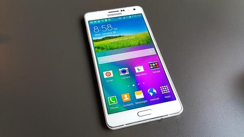 Samsung Galaxy A7 ด้านหน้า