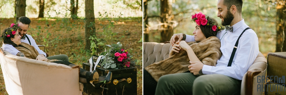 Wedding Creative Inspiration Hamilton Woodland engagement Photography 0011