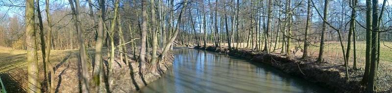 Soutok Doubravy a Zlateho potoka