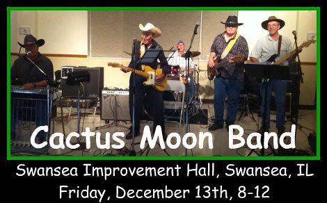 Cactus Moon Band 12-13-13