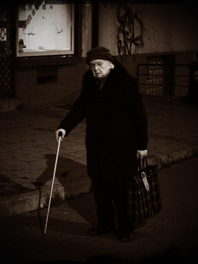 Old Lady in the Dark