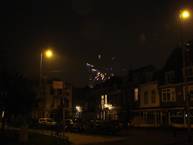 Fireworks and the Domtoren