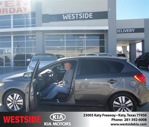 Happy Anniversary to Catherine Robinson on your 2013 #Kia #Forte from Jerry Moore  and everyone at Westside Kia! #Anniversary by Westside KIA