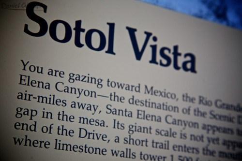 Big Bend - Sotol Vista
