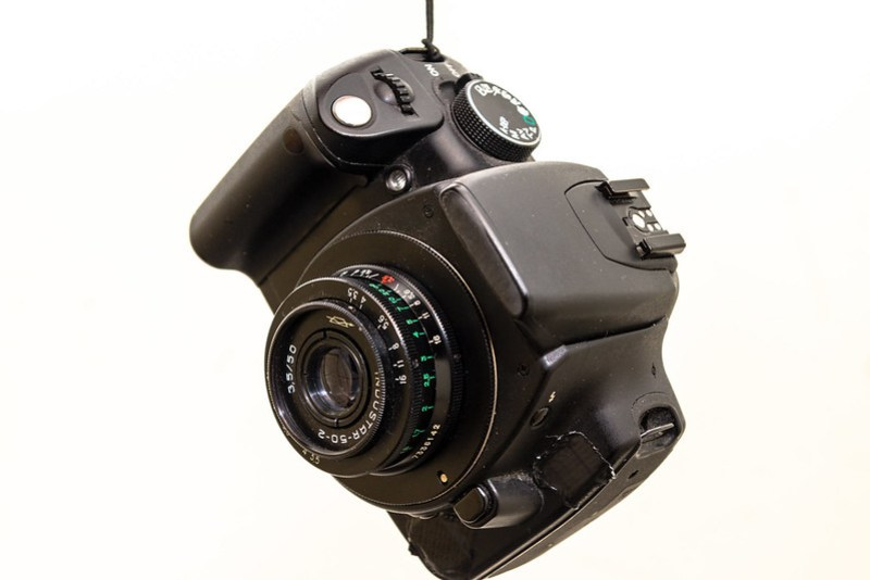 Modded 350d streetphotography cam