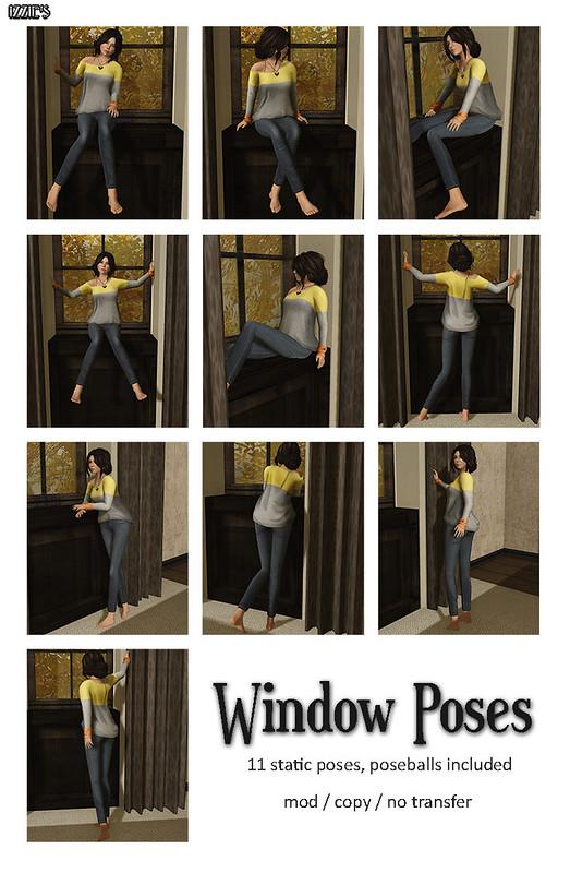 Window Poses (Lazy Sunday)