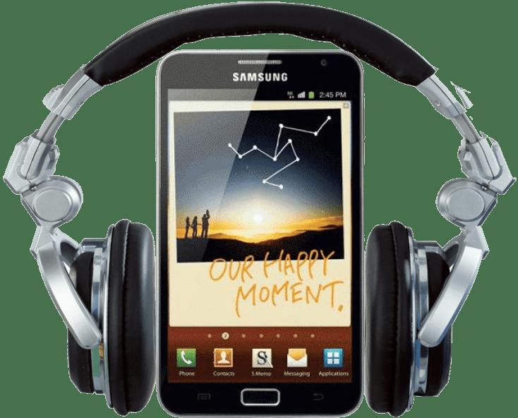 Samsung Galaxy Note audiobook