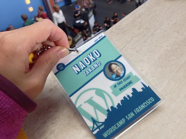 WordCamp San Francisco 2013 Badge