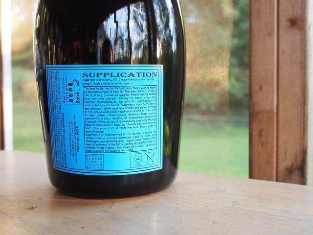Russian River 3 Liter / Litre Supplication Batch 2