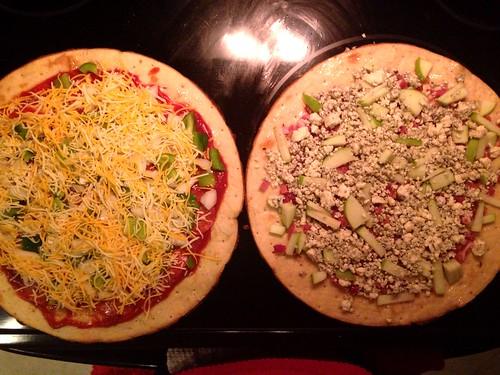 Apple Pancetta Pizza