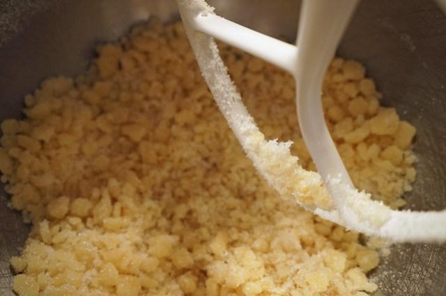 almond paste and sugar