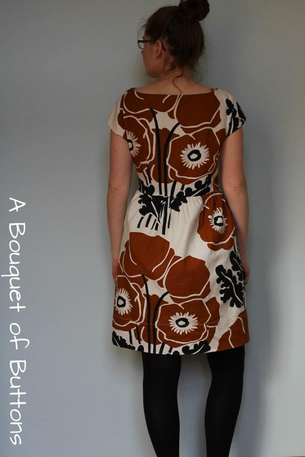 Anna dress, By hand London, curtain, gordijn, jurk, dress