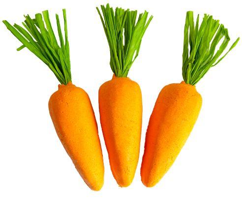 LUSH Carrot Bubble Bar