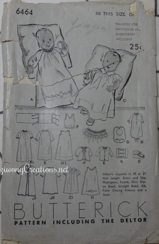 Butterick 6464 (possibly 1953)