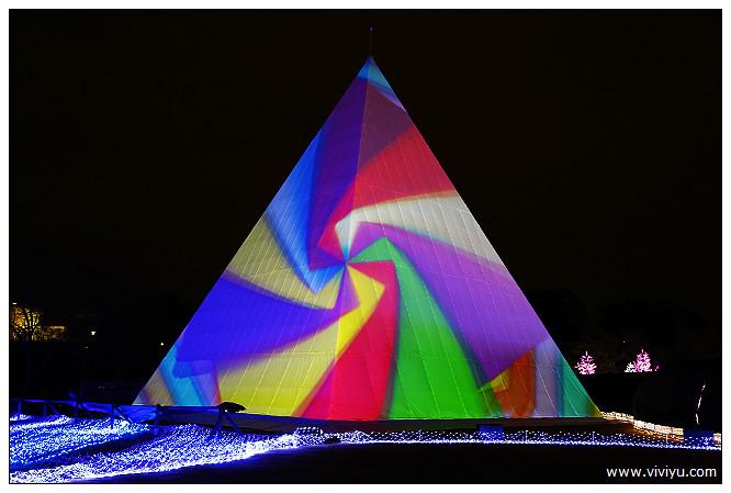3D,光之陣,光影秀,大阪,大阪城,立體映像投影 @VIVIYU小世界