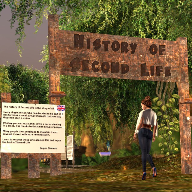 The History of Second Life - 1