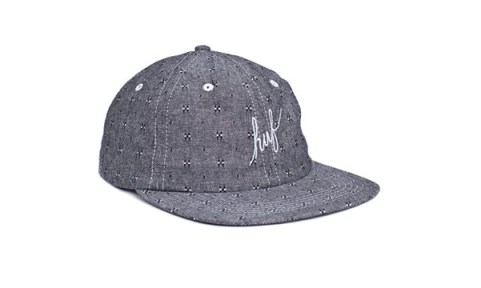 huf_hat_Firefly_Script_6_Panel_Grey