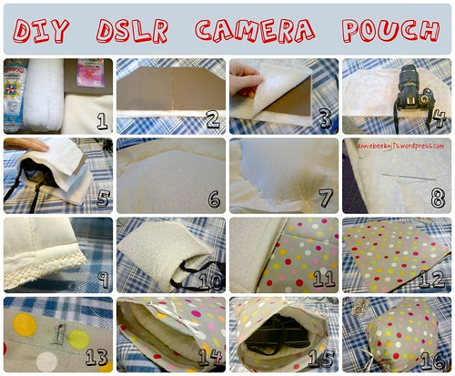 camera pouch tutorial