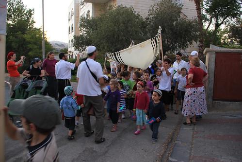 Sukkot Children's March, 2013