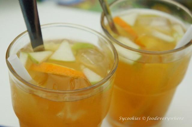13.d dream cafe -Fruit Tea RM 6.50 (hot) RM 6.90 (cold)