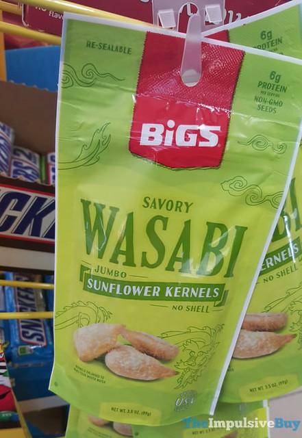 Bigs Savory Wasabi Jumbo Sunflower Kernels