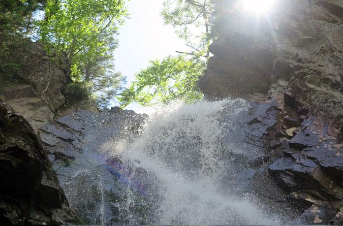 Angel Falls Maine Head