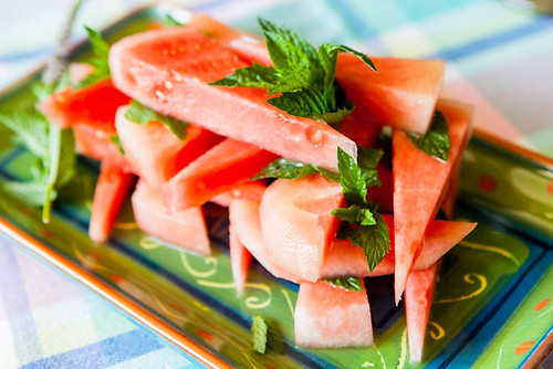 Matermelon & Mint Salad