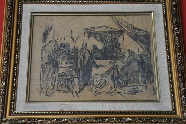 Original Juan Luna Sketch