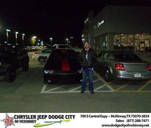 Happy Anniversary to Michael Dolan on your 2013 #Dodge #Challenger from George Rutledge  and everyone at Dodge City of McKinney! #Anniversary by Dodge City McKinney Texas