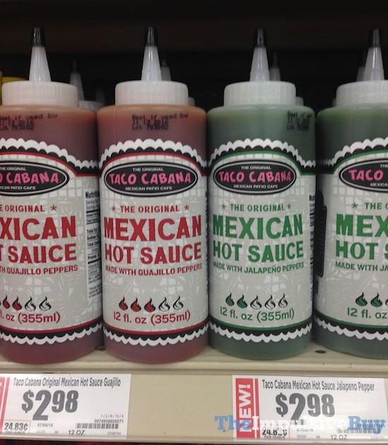 Taco Cabana Hot Sauces