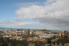 Rainbow Over Edinburgh