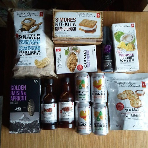Look what arrived yesterday. Samples of the new @PresChoice summer products. Time to start sampling!