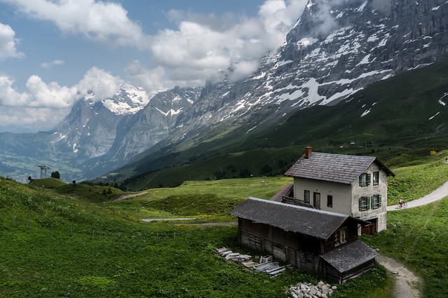 Kleine Scheidegg - House With a View