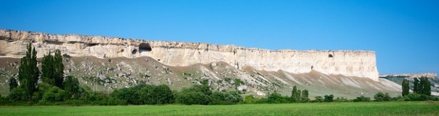 Белая скала, Крым