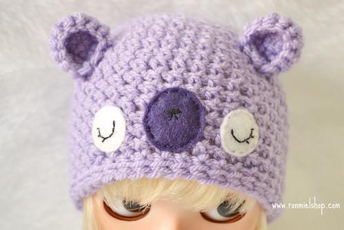 Sleepy bear hat by * Ronmiel *